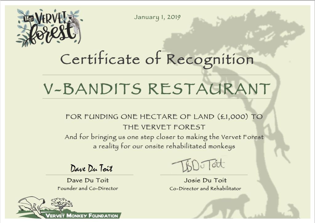 Spende für VMF
